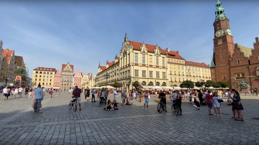 Польский Вроцлав - столица исторической области Силезия